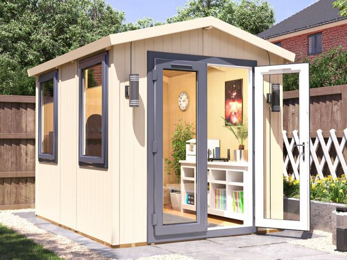 Fully Insulated Contemporary Garden Office 2.2m x 2.8m