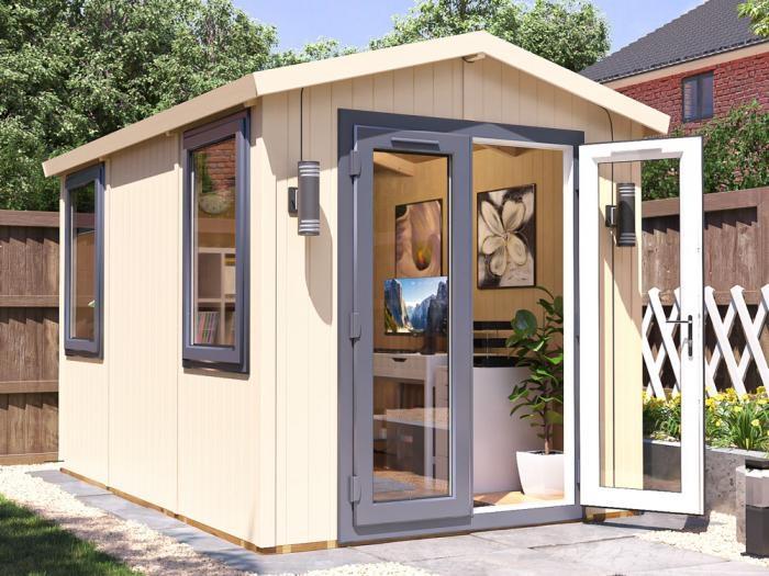 Contemporary Garden Office 2.2m x 3.4m | DIY Garden Offices
