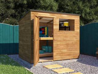 Dad's Pressure Treated Pent Shed I
