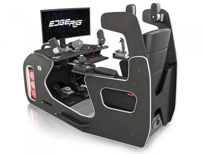 EdgeRig Cockpit Simulator Rig | Flight and Racing Simulator