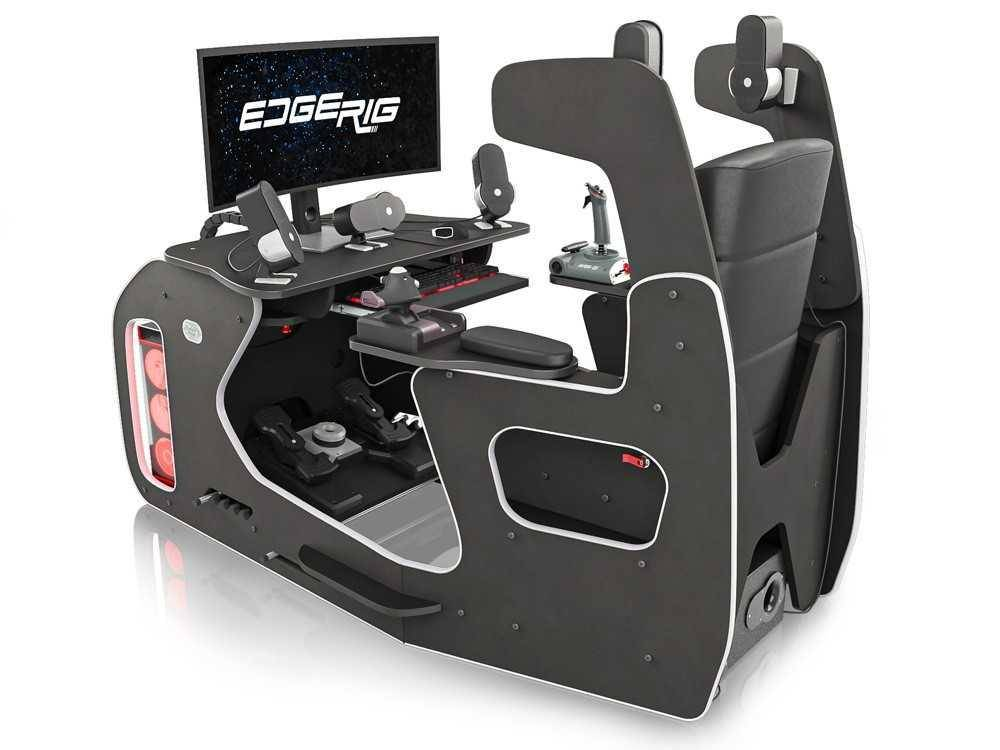EdgeRig Cockpit Simulator Rig