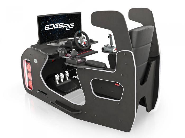 EdgeRig Gaming Chair | Flight and Racing Simulator