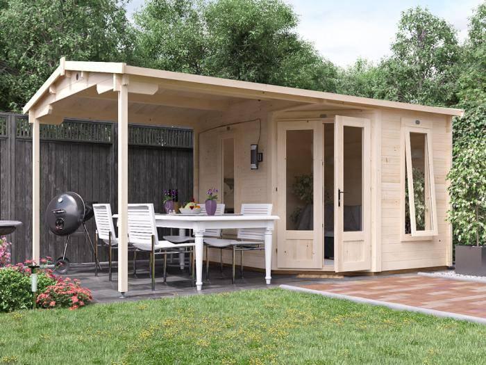 FuriousPigeon Log Cabin W5.0m x D3.0m | Dunster House