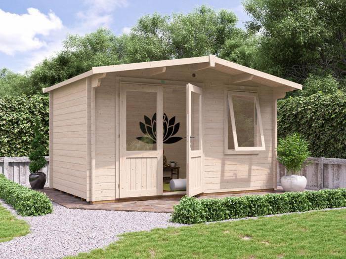 Rhine Log Cabin W4.0m x D2.5m | Log Cabins | Dunster House