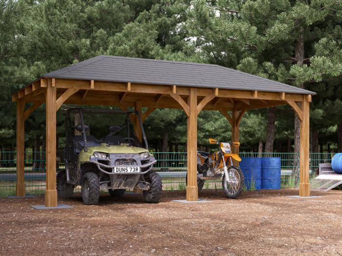 Atlas Open Carport | Open Carports
