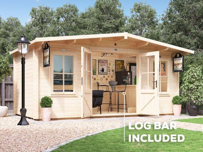Severn Pub Shed Your Gardens New Fantastic Feature