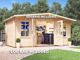 Severn Man Cave Log Cabin