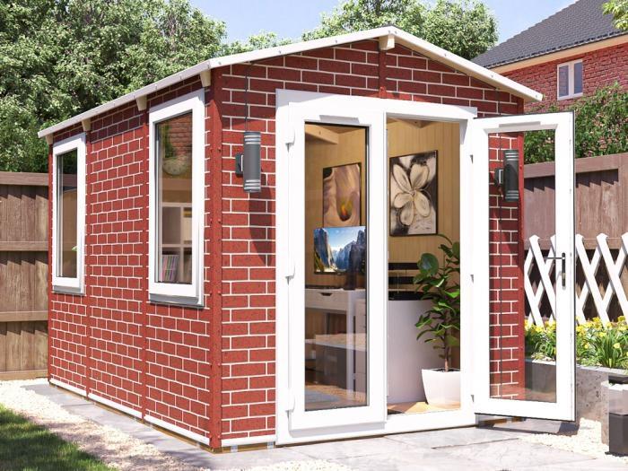 Tegla Garden Office W2.2m x D3.4m   WPC Garden Office