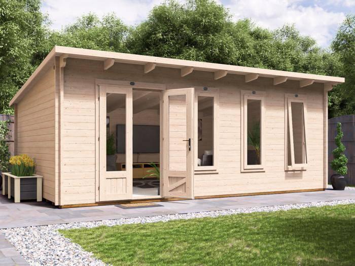 Terminator Log Cabin W6m x D4m | Log Cabins | Dunster House