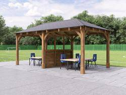 Atlas Chunky Gazebo with Partition