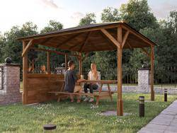Utopia 300 1 Wall Gazebo