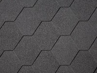 Hexagonal Shingles surface for wooden log cabin roofing