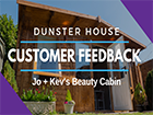 Beauty Cabin: Jo, Kevs Dunster House Customer Feedback _Severn