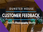 Photography Studio Cabin: Hollys Dunster House Customer Feedback _Severn