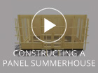 Constructinga Dunster House Panel Summerhouse