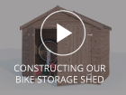 Constructing a Dunster House Shed Bike Storage