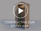 Constructing a Dunster House Shed Sentry Box